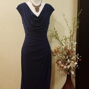 Ralph Lauren Blue Dress Size 10
